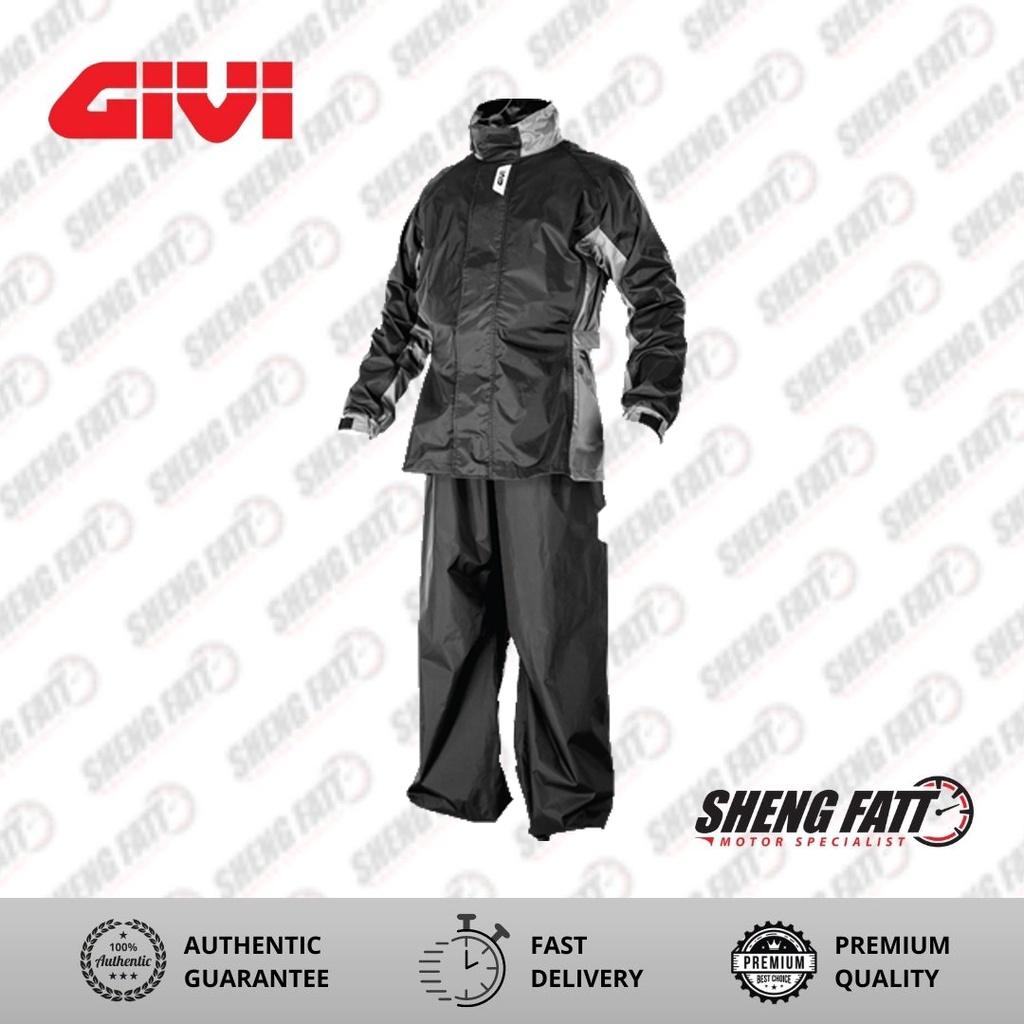 GIVI AX-Comfort Full Body Rain suit Raincoat for Motorcyclist