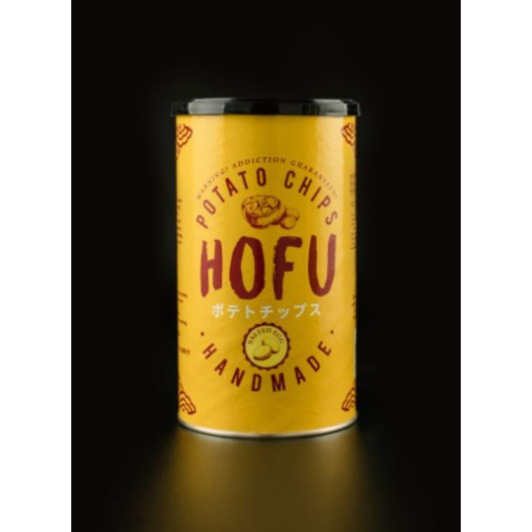 [PROMO] [Original] Hofu Salted Egg Potato Chips (Thick-Cut) 160g 黄金咸蛋薯片(厚切)