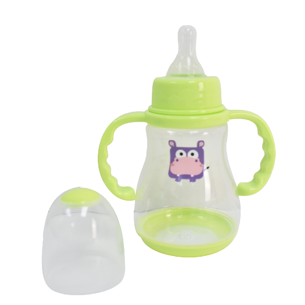 Apple Bear Wide Caliber PP Feeding Bottle (150ml) - Random Design