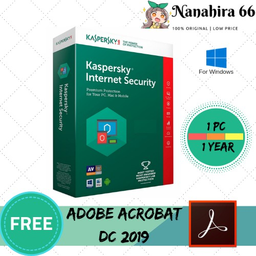 KASPERSKY PREMIUM INTERNET SECURITY 2019 FOR 1 PC 1 YEAR