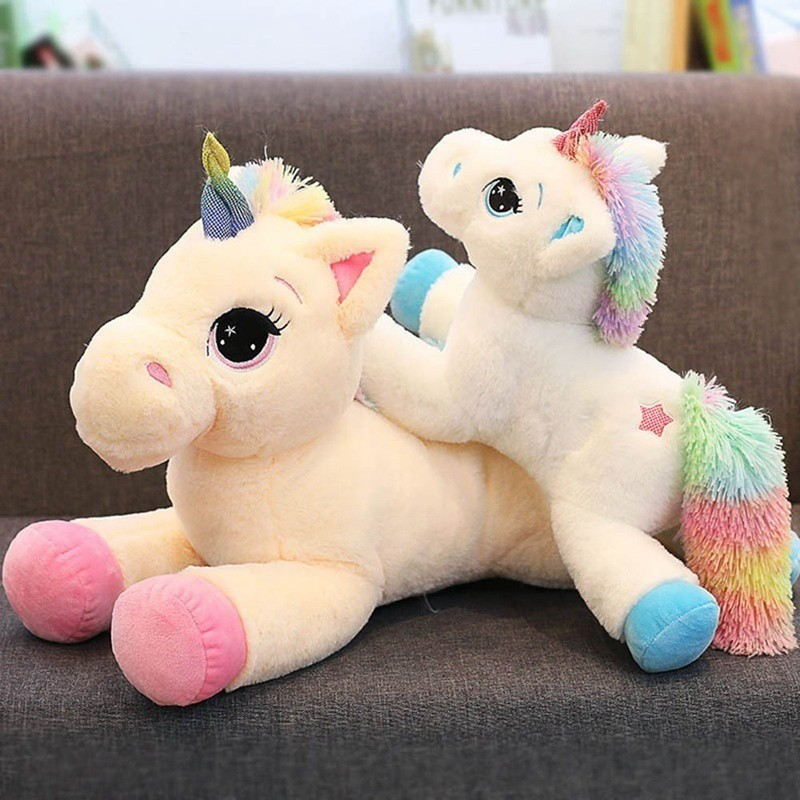 1pc Lovely Soft Stuffed Animal Baby Doll 15cm Lovely Cartoon Unicorn Plush Toy