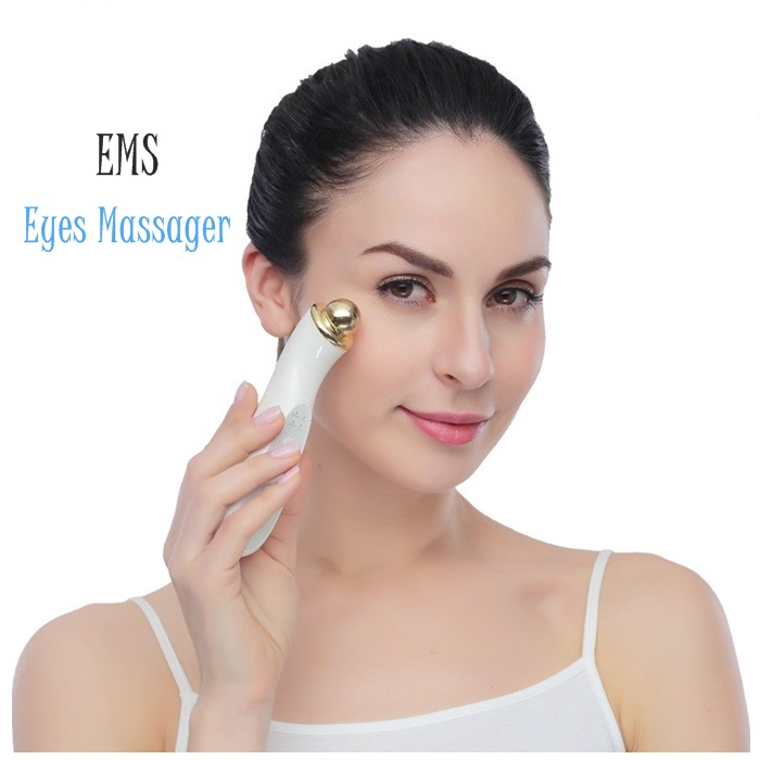 Eye Care EMS Massager, Beauty Care Kit, Erasing Dark Circle, Anti Aging Eyes&Wrinkle,