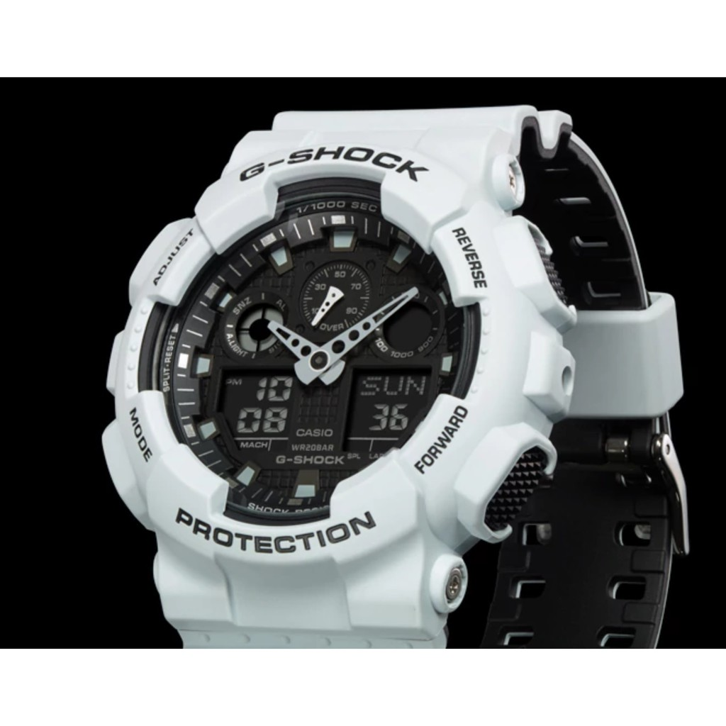 Casio G Shock Ga 100a 9a Digital Men Bumblebee Yellow Watch Shopee Jam Tangan 9adr Malaysia