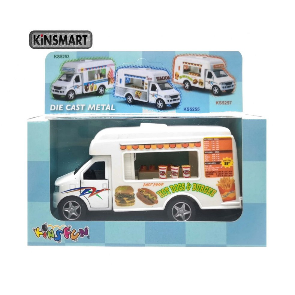 KINSMART 1:50 METAL DIE CAST FAST FOOD TRUCK MODEL COLLECTION KS5257W