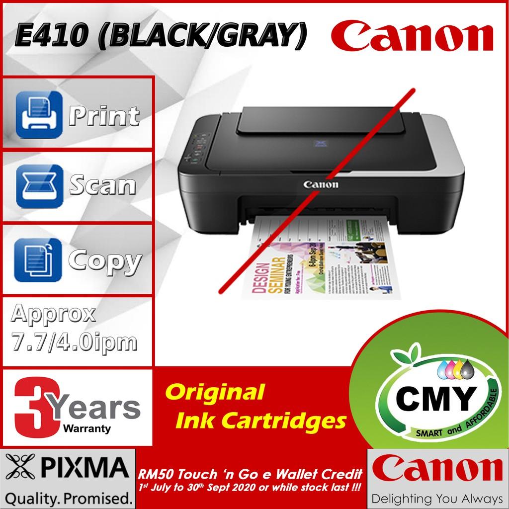 Canon E410 Canon Pixma E410 All In One Printer similar as 2676 L3110 L1110 G2010 2135