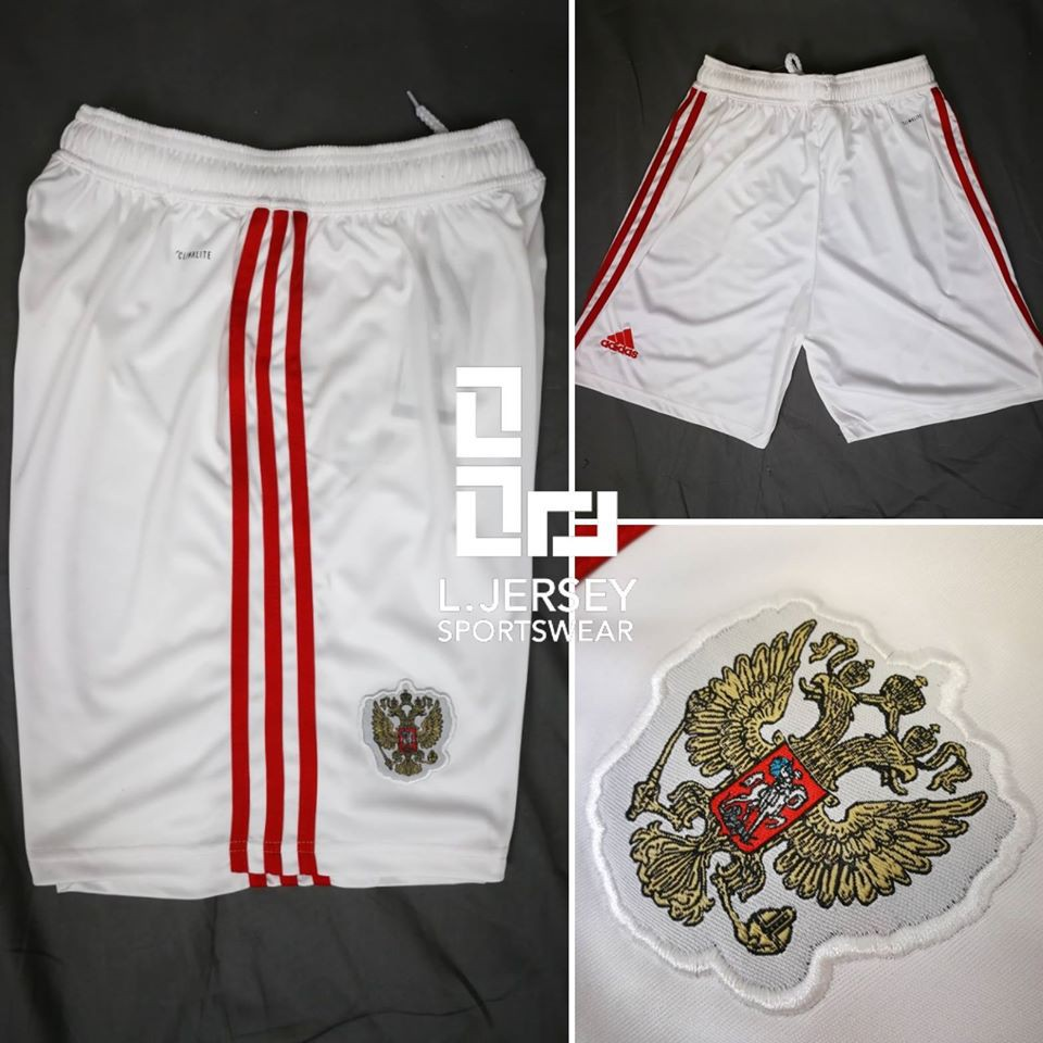 Russia Home Short World Cup 2018