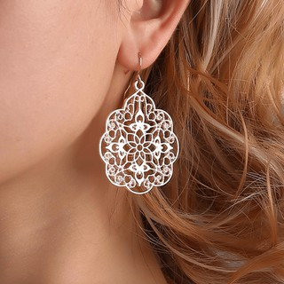 e8110c2b66fc6 💥READY STOCK💥 Bohemian Rose Gold Silver Earrings Boho Statement ...