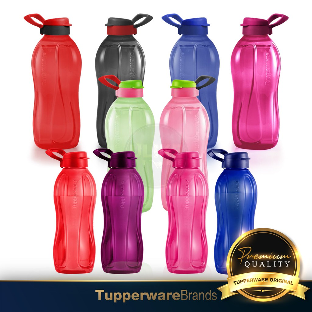 Tupperware XtremAqua / Giant Eco Bottle / Drinking Bottle / Botol Air (350ml / 750ml / 880ml / 1.0L / 1.5L / 2.0L)