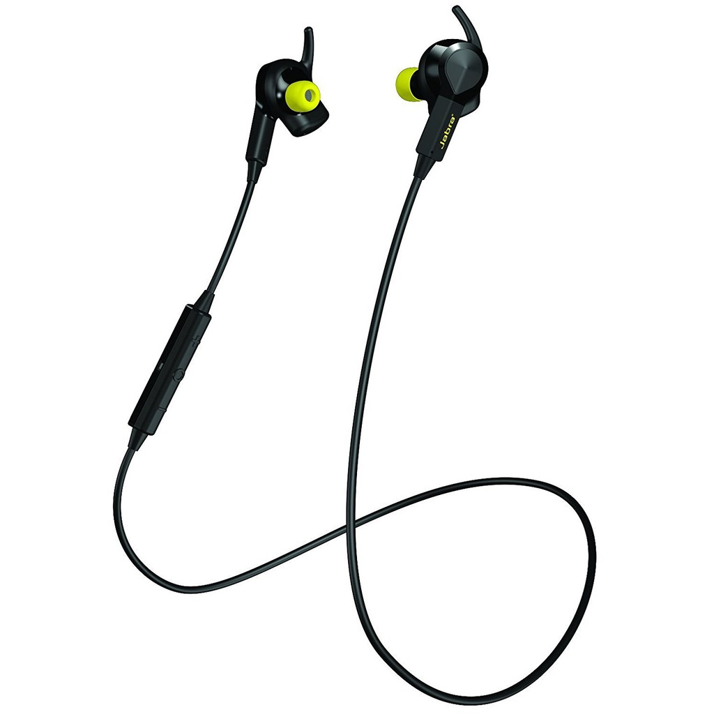 Jabra Sport Pulse Wireless Bluetooth Stereo Headset Built-In Heart Rate Monitor