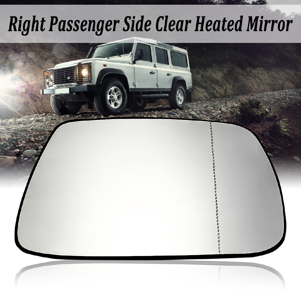 2005-2010 Jeep Grand Cherokee Driver Side Heated Replacement Mirror Glass