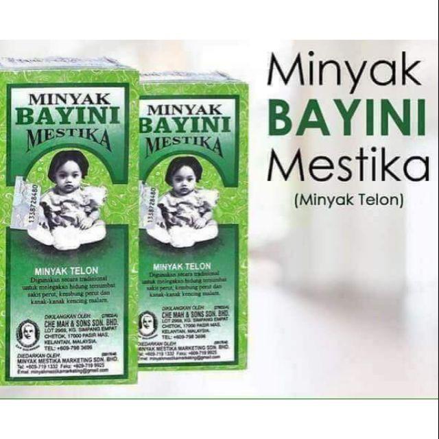 MESTIKA MINYAK BAYINI MINYAK TELON 100% ORIGINAL HQ+FREEGIFT