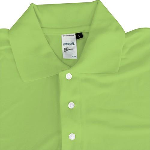 57b9be833 ProductImage. ProductImage. Printwears Polo Collar Tee Microfiber Shirt -  Bright Green