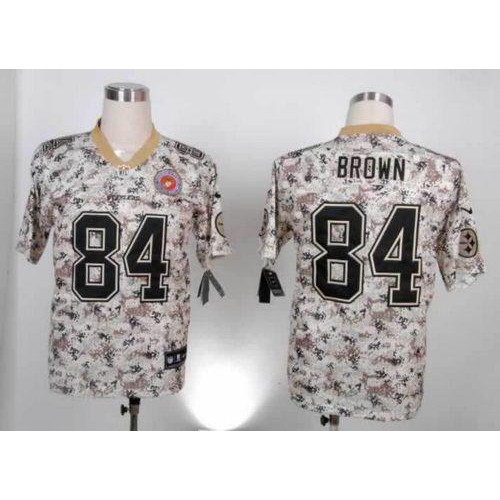 Wholesale NFL Football Jersey Steelers New Pittsburgh Steelers 84 Brown  free shipping