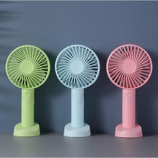 Portable Fans, Mini Electric Desk Fan USB Rechargeable Battery Powered Fan