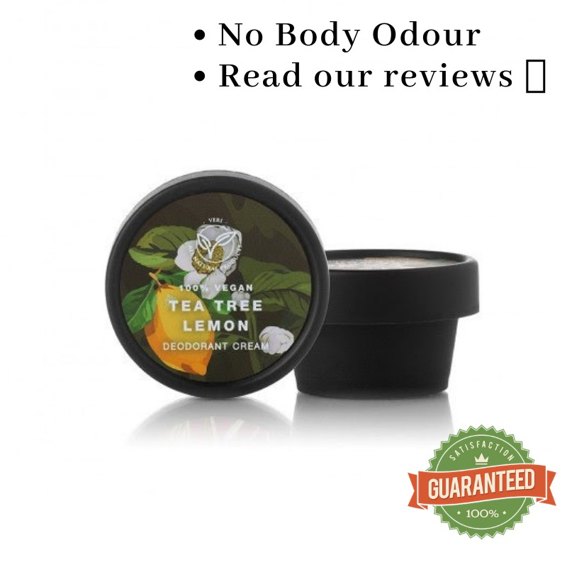 100% Guarantee Effective Veri Natural Tea Tree Lemon Deodorant For Men And  Women