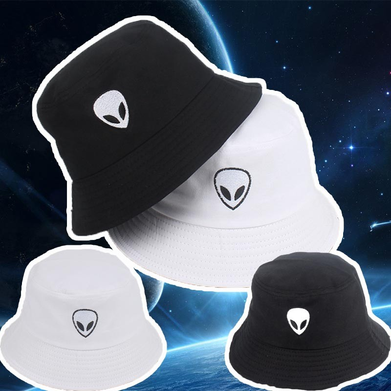 7322ad71706a61 ProductImage. ProductImage. Fisherman Caps Headwear Plain Hat Alien Unisex  ...