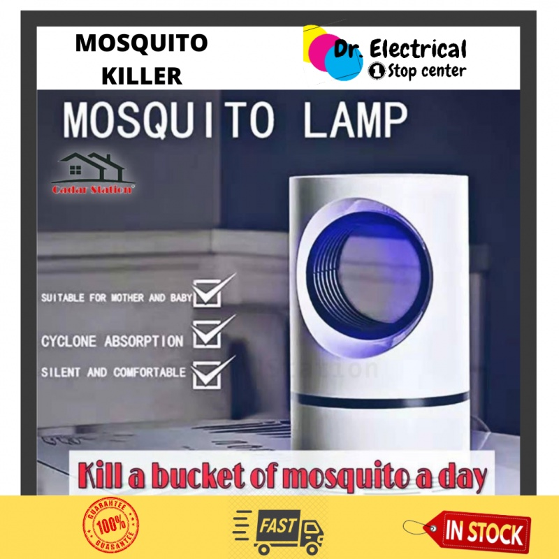 IN STOCK - USB LED Light Electric Insect Killer Fly Bug Mosquito Trap Lamp Pest Catcher - EASY CARRY AND PORTABLE .