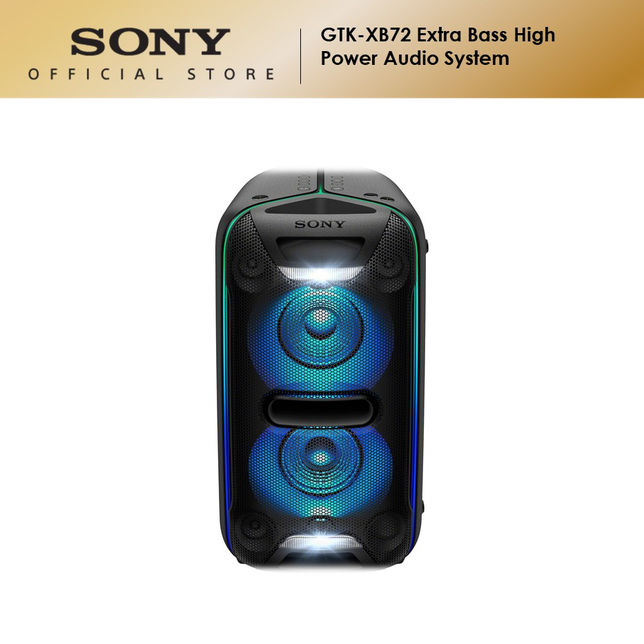 Sony GTK-XB72 EXTRA BASS High Power Audio System