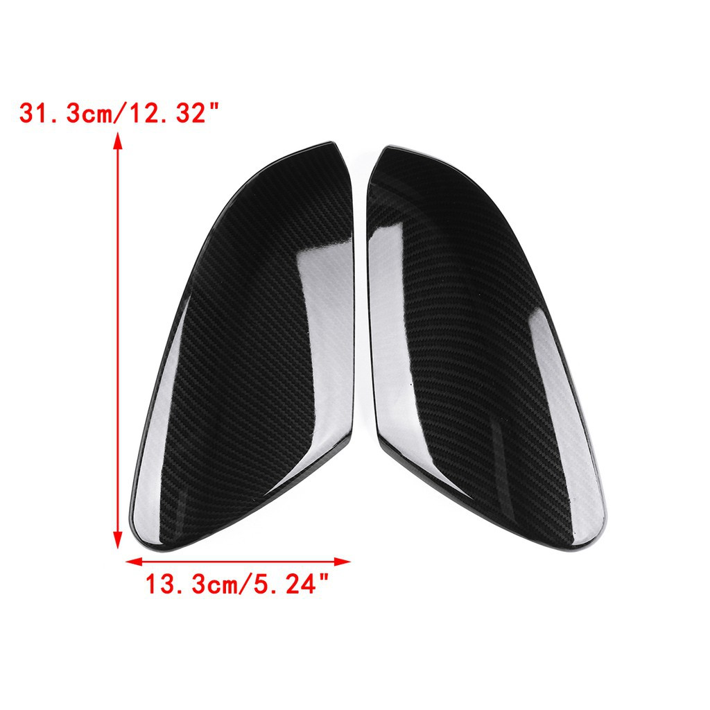 For 07-12 Nissan Altima Mirror Chrome 2PCS ABS Side Mirror Cover W//O Signal Cut