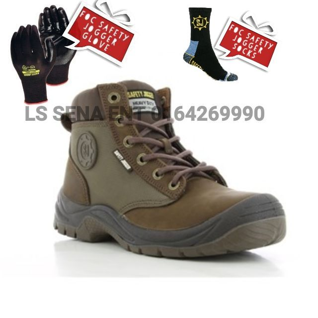 442703807aa safety jogger safety shoes dakar brown