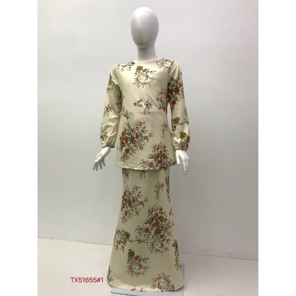 Nayla.Z Baju Kurung Budak ( KIDS) Fit Design Long sleeve Lengan panjang Material Bubble TX51655 For Age 5-13