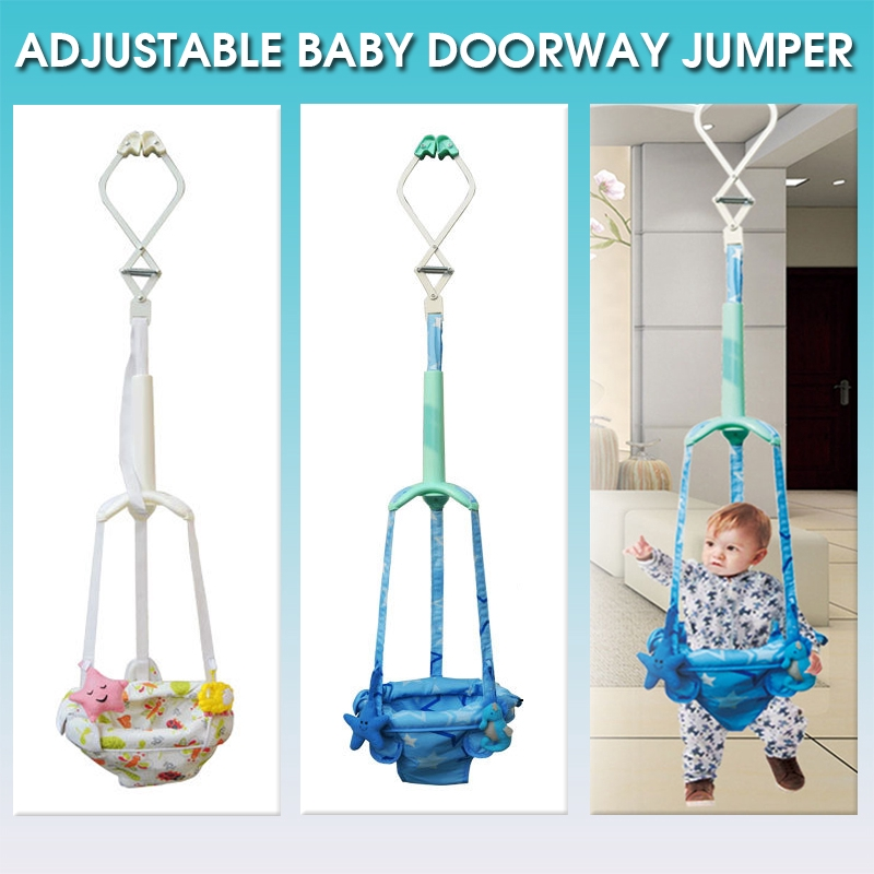 Baby Door Jumper Activity Bouncer Doorway Swing Toddler Infant Seat Pad Exercise