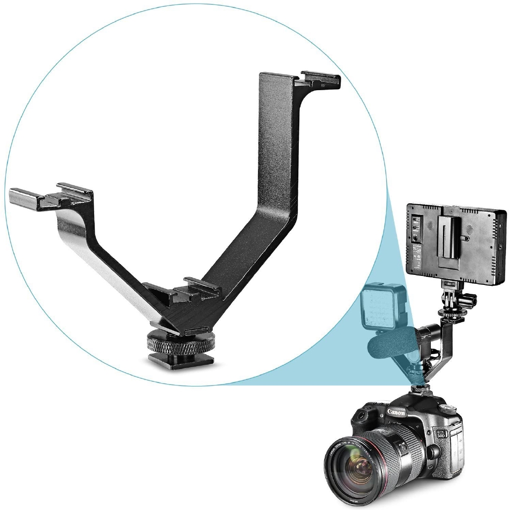 Pro Video Stabilizing Handle Grip for Pentax Q Vertical Shoe Mount Stabilizer Handle