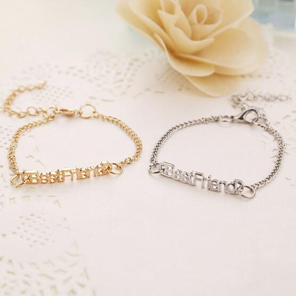 Chain Gifts Charm Bangle Best Friend