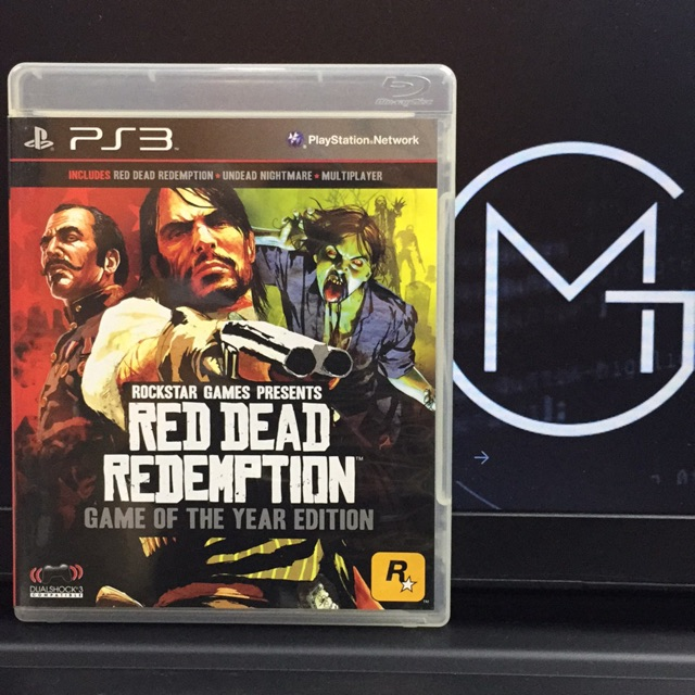 Ps3 Game (Used) - Red Dead Redemption : Game Of The Year Edition (R3)