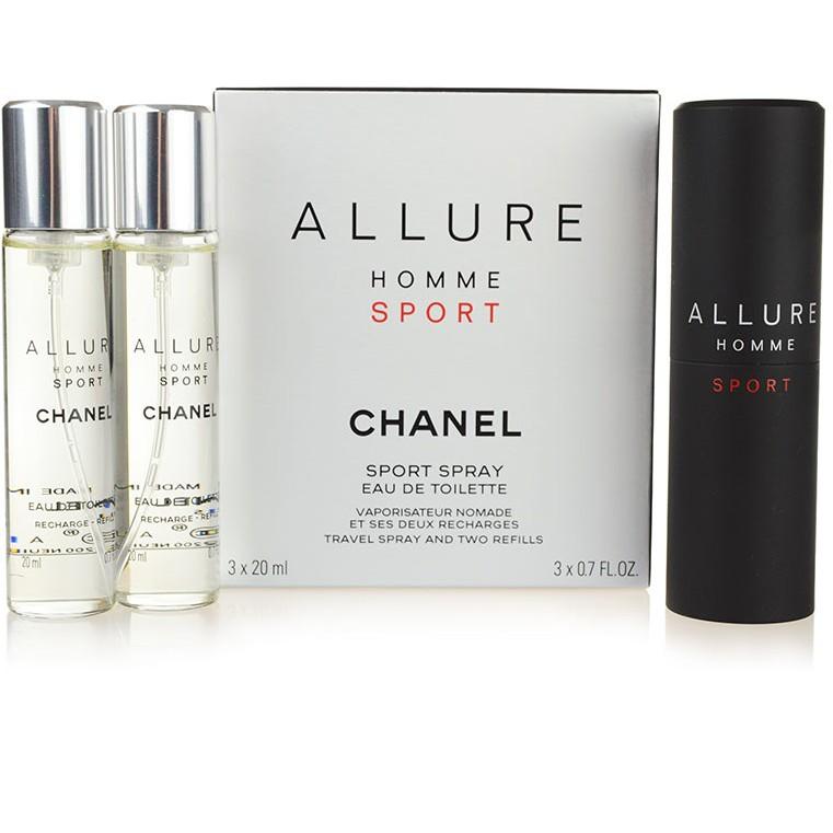 38f5ce10 Chanel ALLURE HOMME SPORT EAU DE TOILETTE REFILLABLE TRAVEL