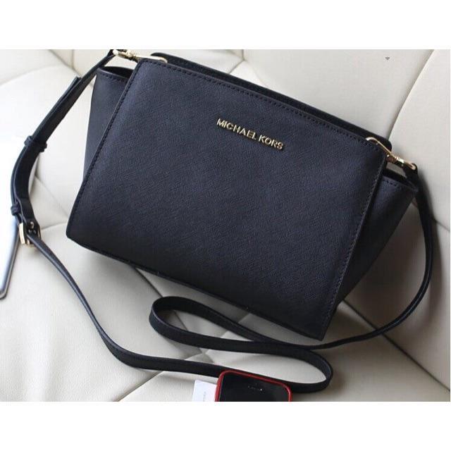 e0898cbfe40c Michael Kors MK Contemporary Bag Saffiano Effect Sling Handbag | Shopee  Malaysia