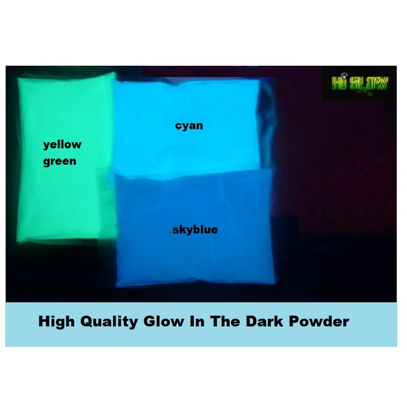 Glow in the dark powder 50g
