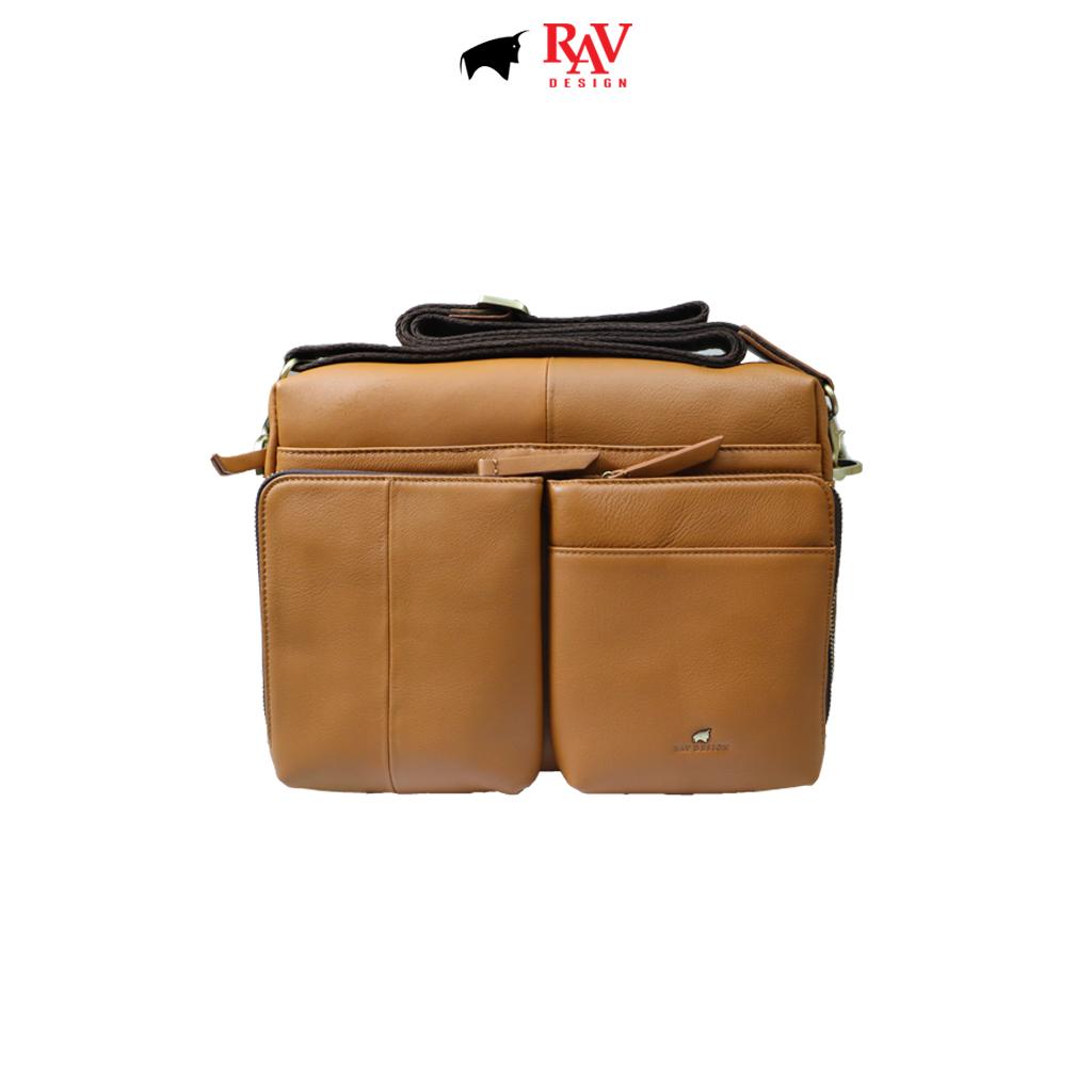 RAV DESIGN 100% Genuine Leather Messenger Document Sling Bag |RVC485G3 series