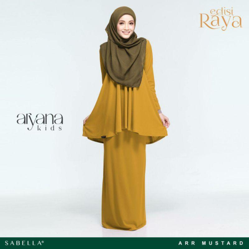 Sabella Aryana Kurung Size M , L , XL [Ready Stock]