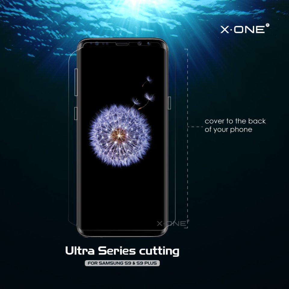 Samsung S8 ( G950 ) X-One Ultra Crystal Clear Screen Protector