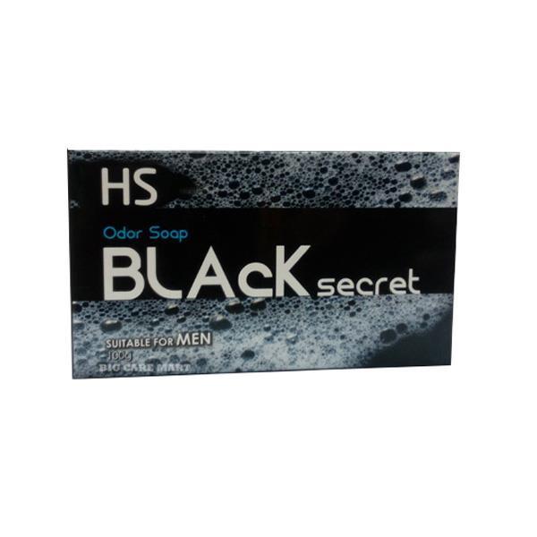 HS Black Secret Sulfur Soap for Men Reduce Body Odor 100g