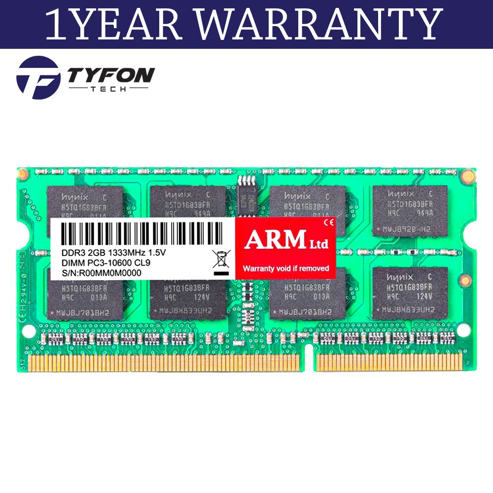 Mix Branded Sodimm 2gb Ddr3 1066mhz Pc3 8500 Laptop Ram Refurbished Memory 2 Gb Shopee Malaysia