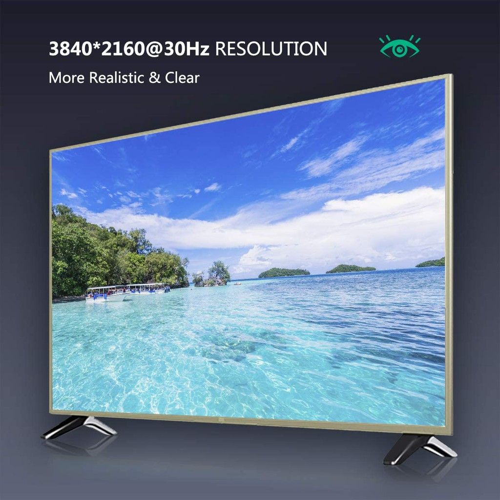 Mini DisplayPort to HDMI Cable, Benfei 4K Mini DP to HDMI 6 Feet Cable 6 Feet