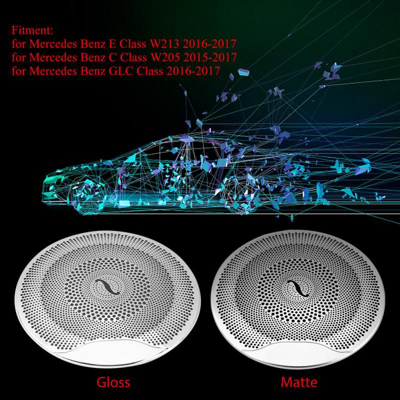 Car Audio Door Loudspeaker Cover Trim for Mercedes Benz E/C
