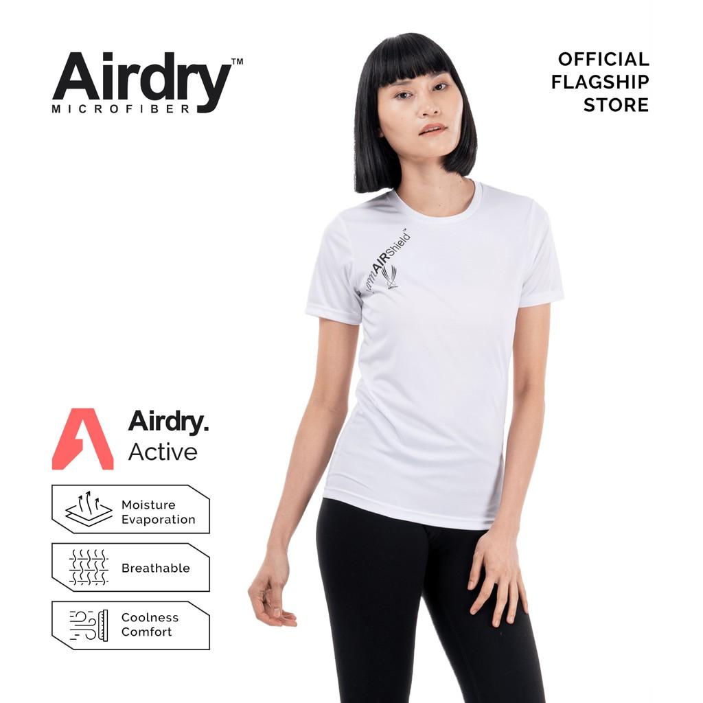 AIRDRY PRO Unisex Microfiber Round Neck Short Sleeve T-Shirt  (Royal Blue / White / Navy Blue / Black) PRO2001