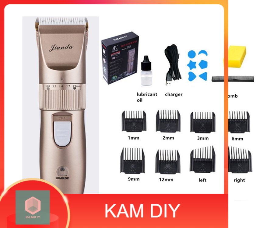 X1 Professional Rechargeable Electric Hair Clipper Beard Trimmer Cutter
