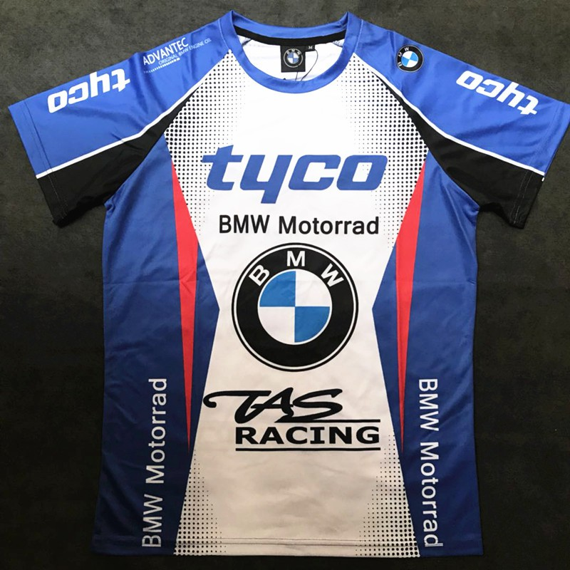 Bmw Motorrad Tyco Tas Racing Motorcycle Quick Dry Breathable T Shirt