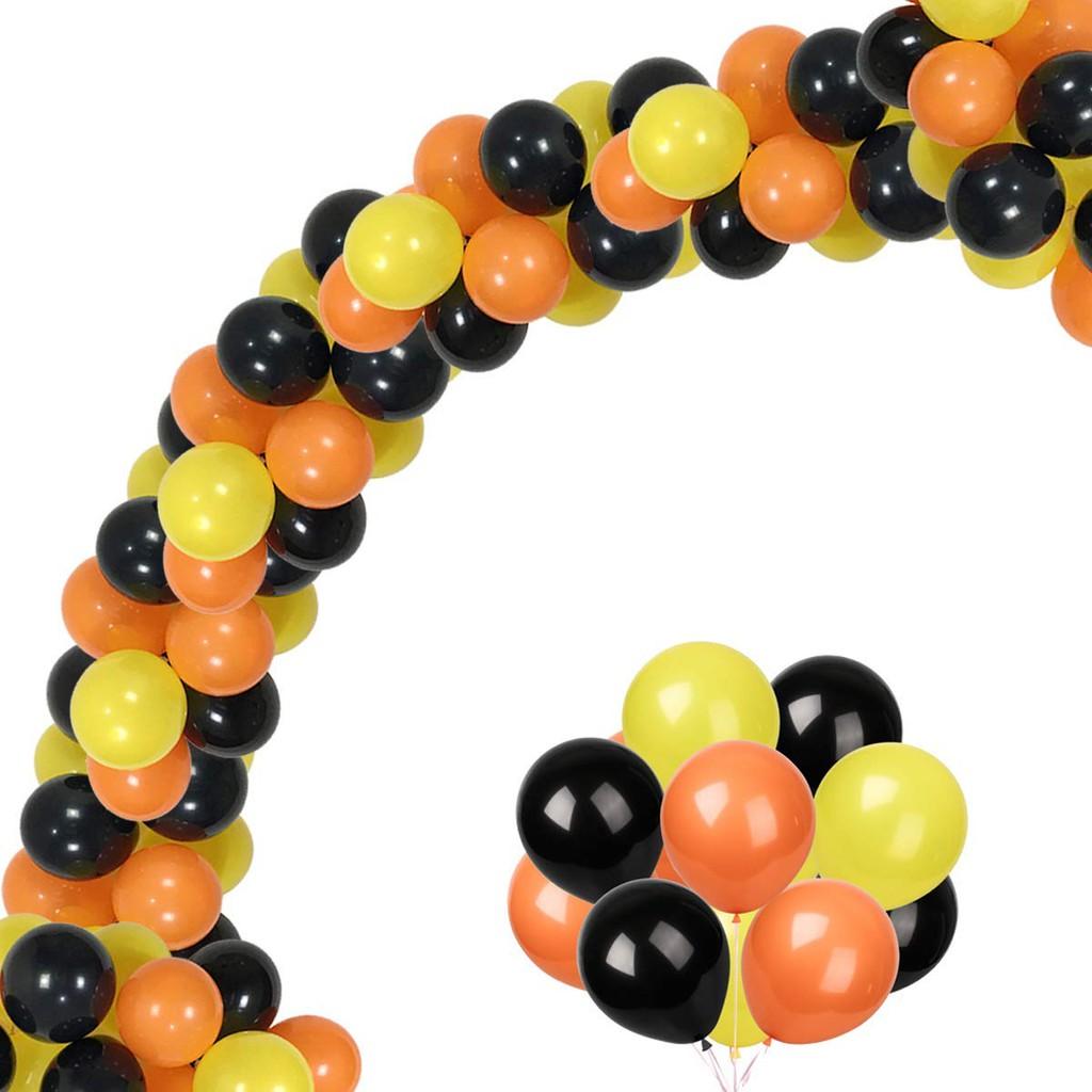 Balloon Garland Kit Construction Birthday Party Supplies Orange Black Yellow Diy Arch Tool Boys Birthday Party Decorations Shopee Malaysia