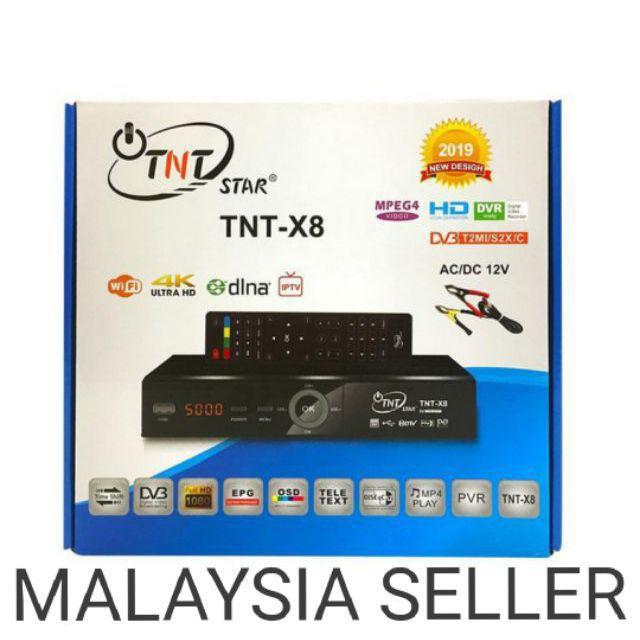 TNT X8/TNT STAR combo S2+T2 MYTV Ninmedia