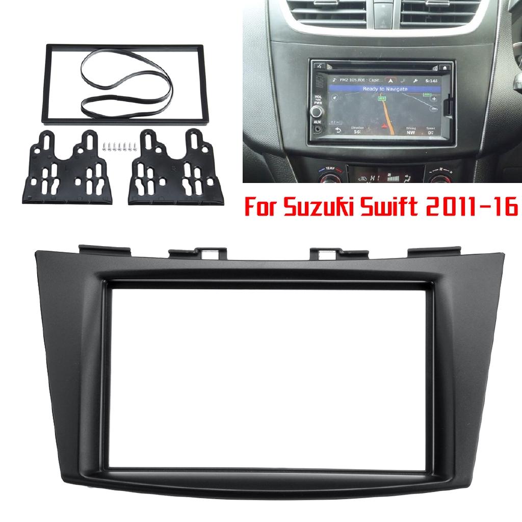 Radio Stereo Fascia Panel Plate Adapter Kit For Suzuki Swift 2011-16 Ertiga  2012