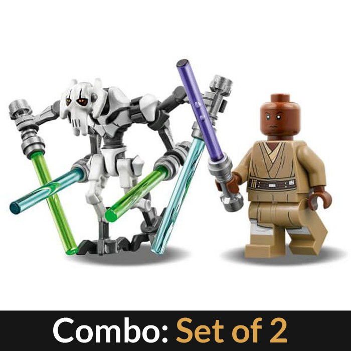 LEGO STAR WARS Mace Windu MINIFIG new from Lego set #75199 New