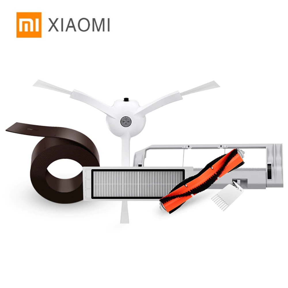 Lower Price with 1pcs Main Brush 4pcs Screw Replacement Kit Parts Set For Xiaomi Strong Packing 1pcs Cleaning Tool 4pcs Side Brushes 2pcs Hepa Filter