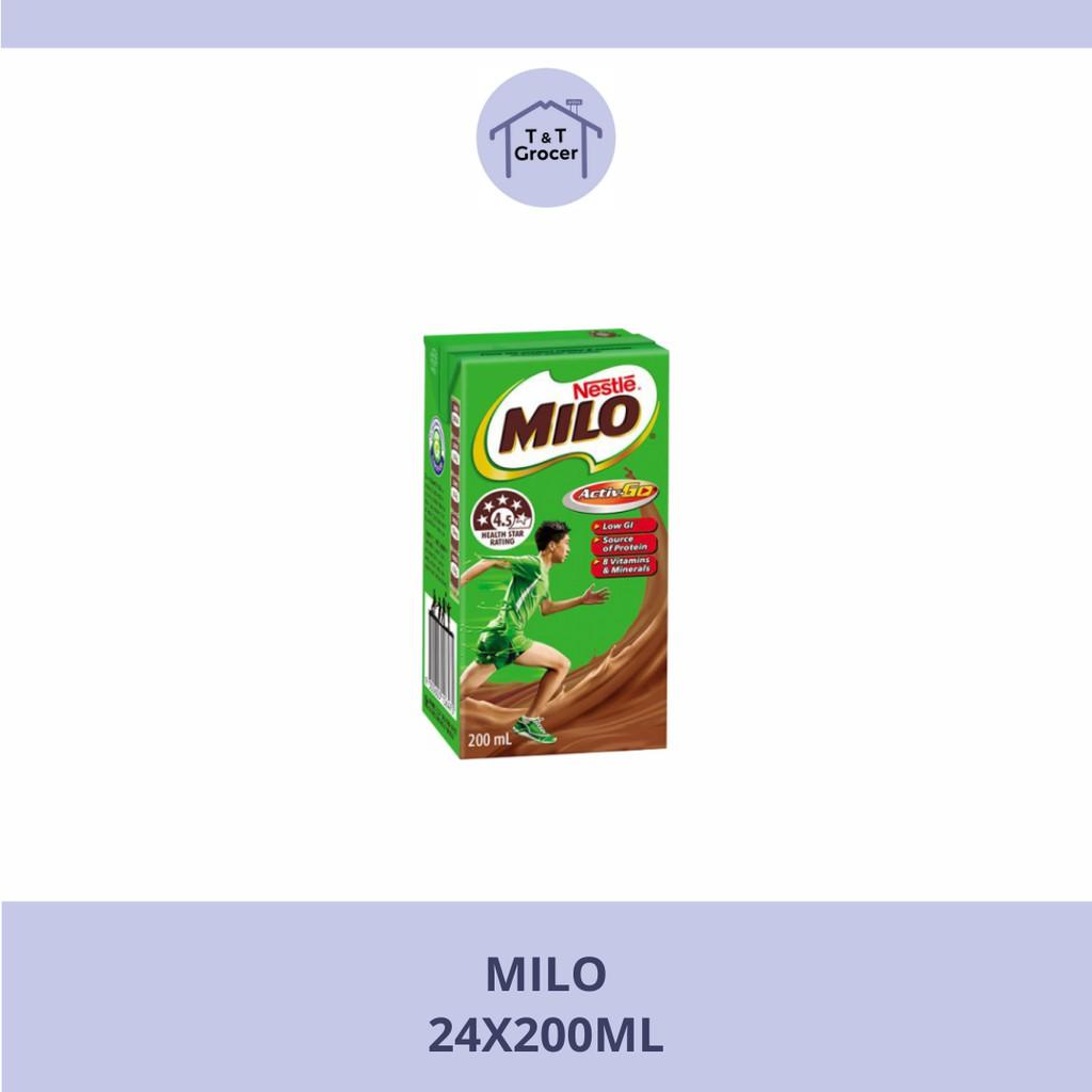 Milo Activ-Go UHT (24x200ml / 12x1L)