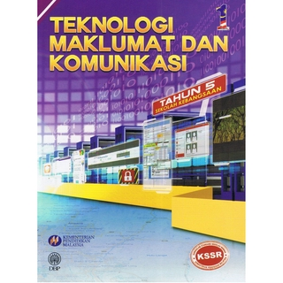 Teknologi Maklumat Komunikasi Sekolah Kebangsaan Tahun 5 Buku Teks Shopee Malaysia