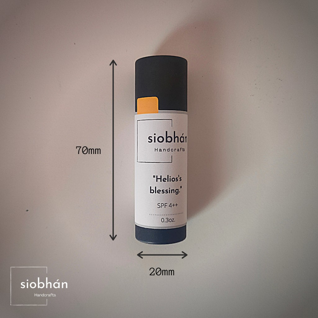 Siobhan Multipurpose Herbal Lip Balm - Helios's blessing 9g